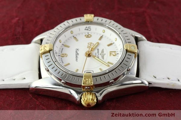Used luxury watch Breitling Callistino gilt steel quartz Ref. B520451  | 140929 05