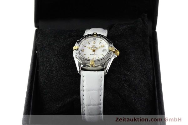 Used luxury watch Breitling Callistino gilt steel quartz Ref. B520451  | 140929 07