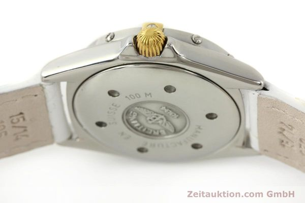 Used luxury watch Breitling Callistino gilt steel quartz Ref. B520451  | 140929 08