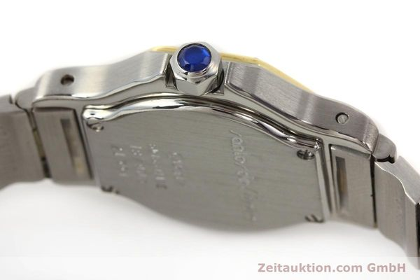 Used luxury watch Cartier Santos steel / gold quartz  | 140930 08
