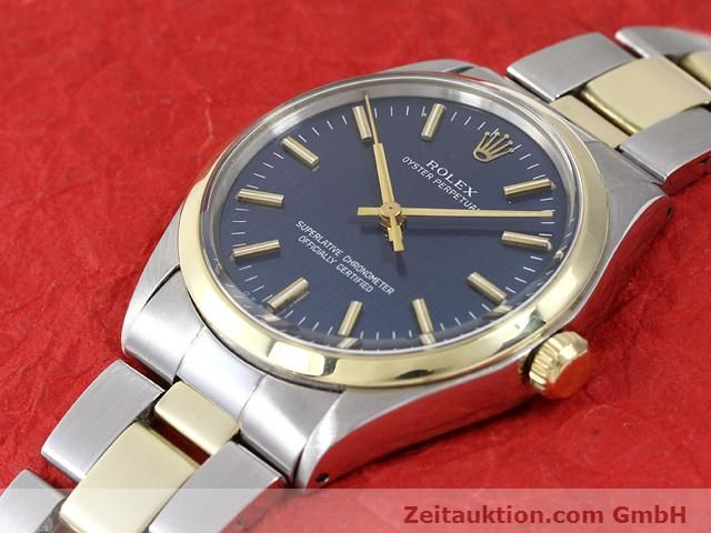 Used luxury watch Rolex Oyster Perpetual steel / gold automatic Kal. 1570 Ref. 1002  | 140932 01