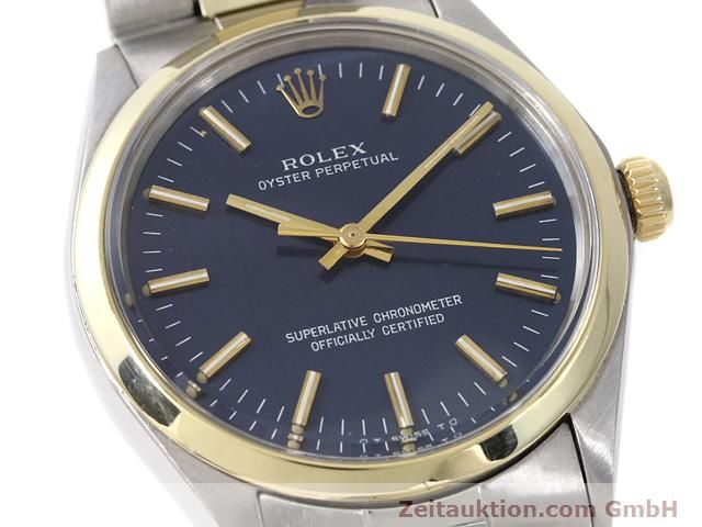 Used luxury watch Rolex Oyster Perpetual steel / gold automatic Kal. 1570 Ref. 1002  | 140932 02