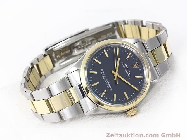 Used luxury watch Rolex Oyster Perpetual steel / gold automatic Kal. 1570 Ref. 1002  | 140932 03