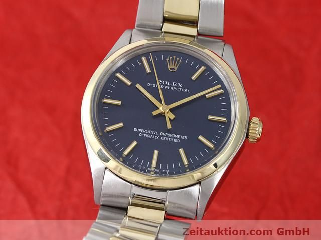 Used luxury watch Rolex Oyster Perpetual steel / gold automatic Kal. 1570 Ref. 1002  | 140932 04