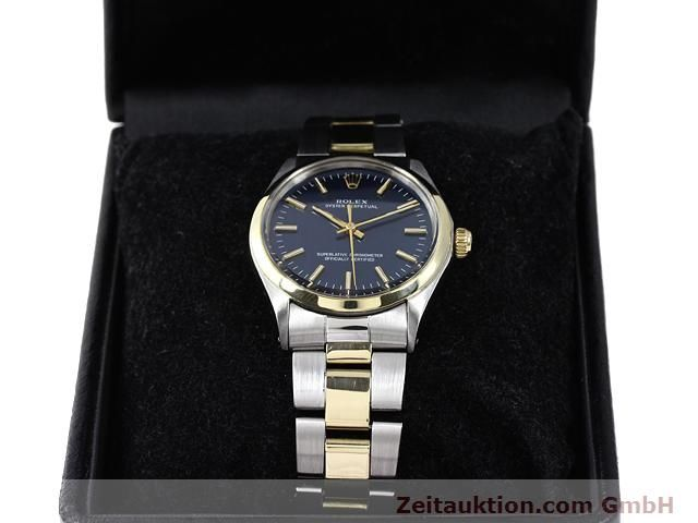 Used luxury watch Rolex Oyster Perpetual steel / gold automatic Kal. 1570 Ref. 1002  | 140932 07