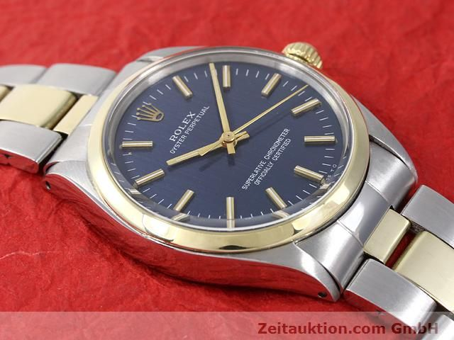 Used luxury watch Rolex Oyster Perpetual steel / gold automatic Kal. 1570 Ref. 1002  | 140932 14
