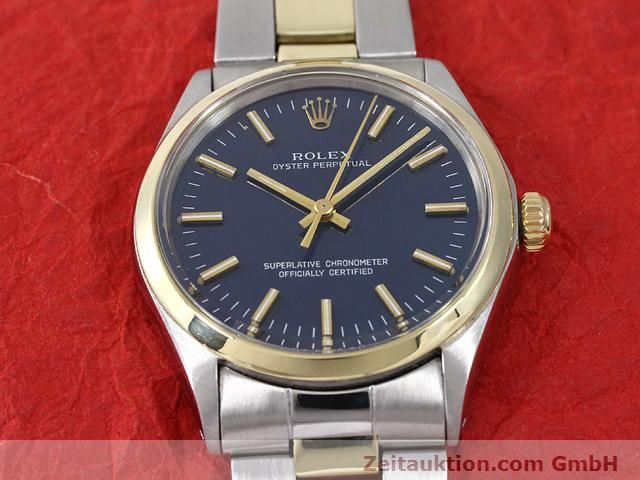 Used luxury watch Rolex Oyster Perpetual steel / gold automatic Kal. 1570 Ref. 1002  | 140932 15