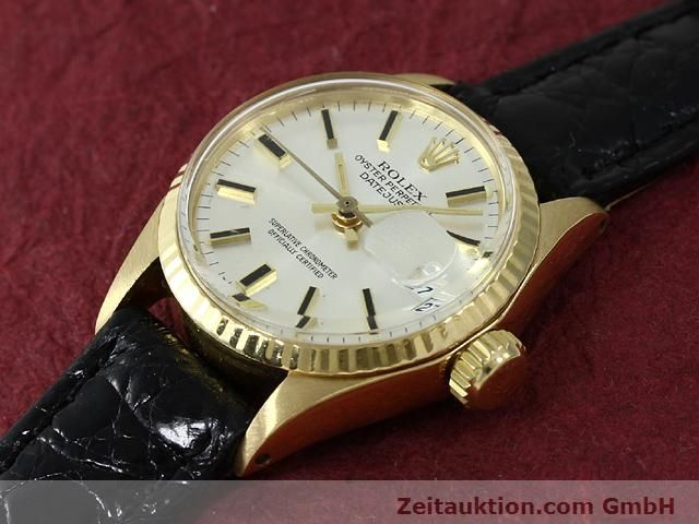 Used luxury watch Rolex Lady Datejust 18 ct gold automatic Kal. 1161 Ref. 6517  | 140933 01