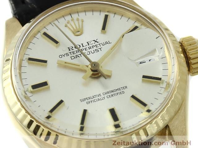 Used luxury watch Rolex Lady Datejust 18 ct gold automatic Kal. 1161 Ref. 6517  | 140933 02