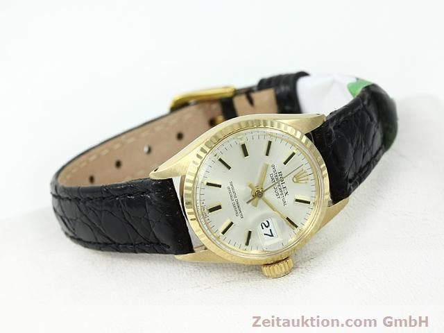 Used luxury watch Rolex Lady Datejust 18 ct gold automatic Kal. 1161 Ref. 6517  | 140933 03