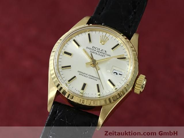 Used luxury watch Rolex Lady Datejust 18 ct gold automatic Kal. 1161 Ref. 6517  | 140933 04