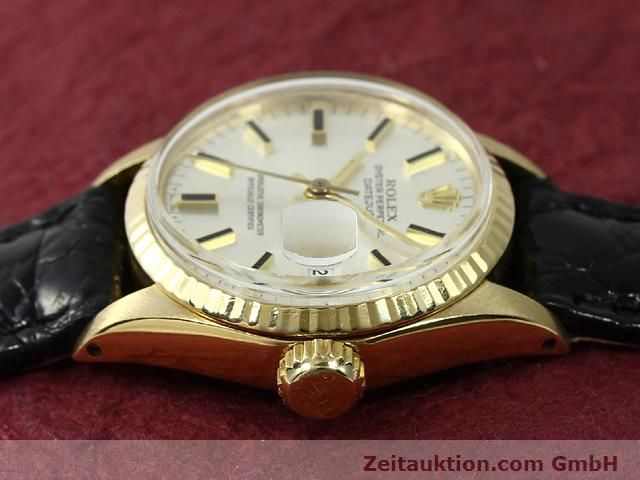Used luxury watch Rolex Lady Datejust 18 ct gold automatic Kal. 1161 Ref. 6517  | 140933 05