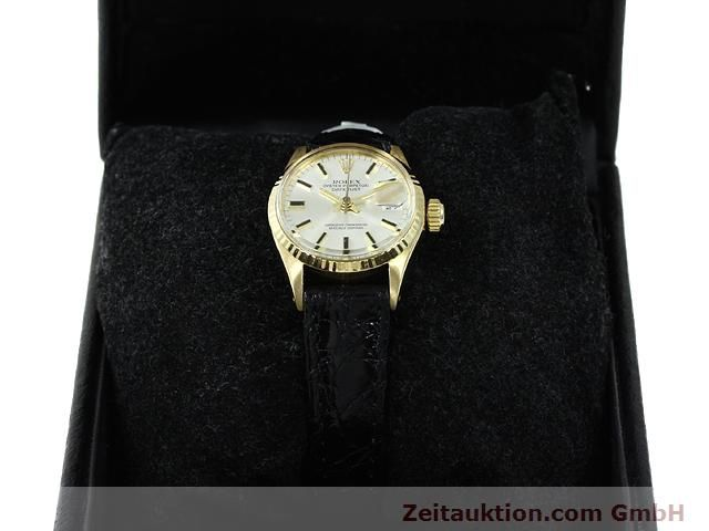 Used luxury watch Rolex Lady Datejust 18 ct gold automatic Kal. 1161 Ref. 6517  | 140933 07