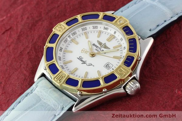 Used luxury watch Breitling Lady J steel / gold quartz Ref. D52065  | 140936 01