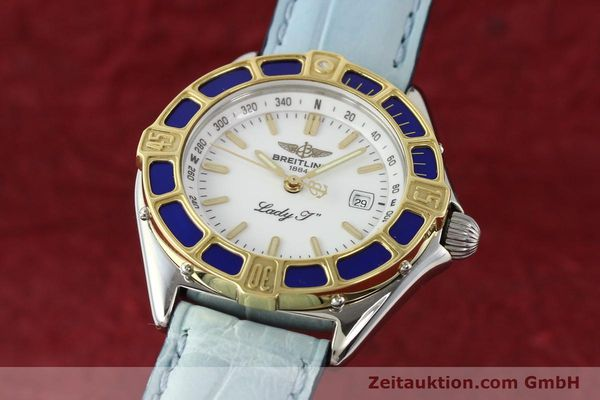Used luxury watch Breitling Lady J steel / gold quartz Ref. D52065  | 140936 04