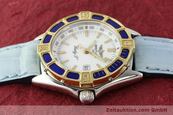Used luxury watch Breitling Lady J steel / gold quartz Ref. D52065  | 140936 05