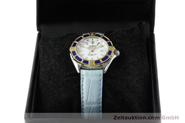 Used luxury watch Breitling Lady J steel / gold quartz Ref. D52065  | 140936 07