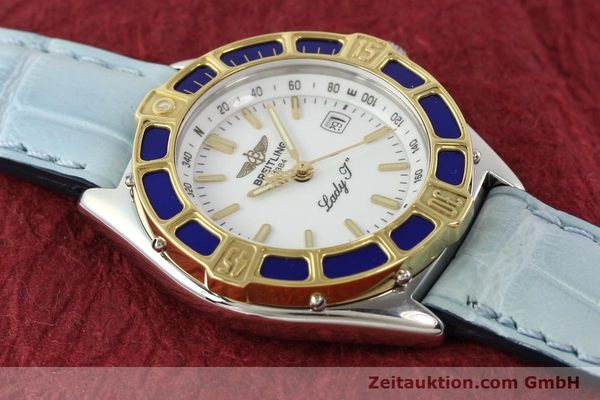 Used luxury watch Breitling Lady J steel / gold quartz Ref. D52065  | 140936 13