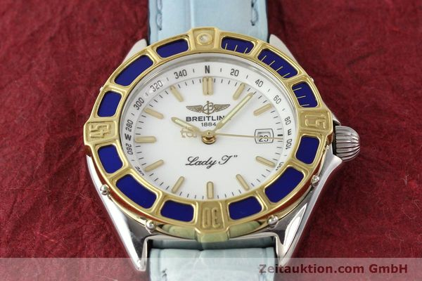 Used luxury watch Breitling Lady J steel / gold quartz Ref. D52065  | 140936 14