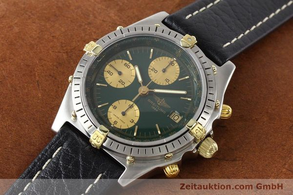 Used luxury watch Breitling Chronomat gilt steel automatic Kal. B13 VAL 7750 Ref. 81950B13047  | 140937 01