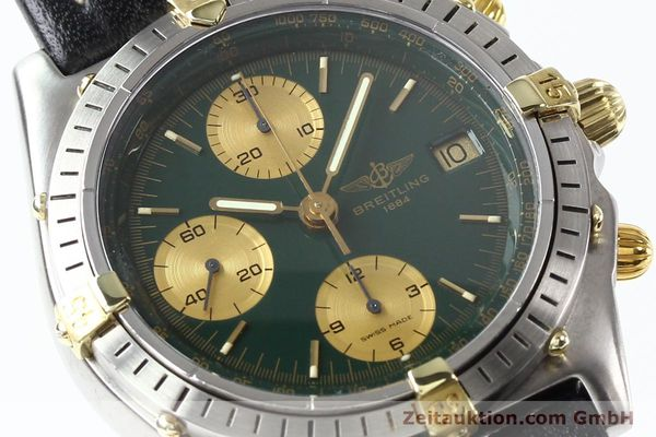 Used luxury watch Breitling Chronomat gilt steel automatic Kal. B13 VAL 7750 Ref. 81950B13047  | 140937 02