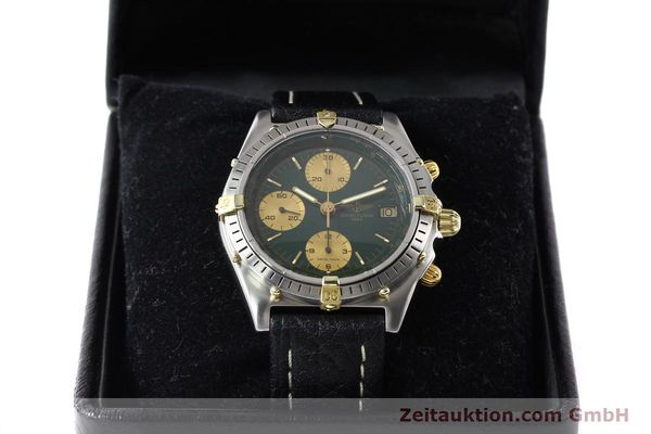 Used luxury watch Breitling Chronomat gilt steel automatic Kal. B13 VAL 7750 Ref. 81950B13047  | 140937 07