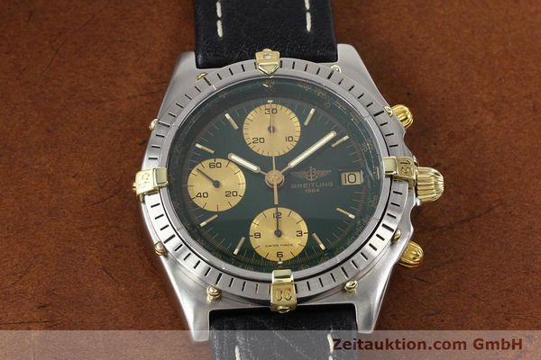 Used luxury watch Breitling Chronomat gilt steel automatic Kal. B13 VAL 7750 Ref. 81950B13047  | 140937 14