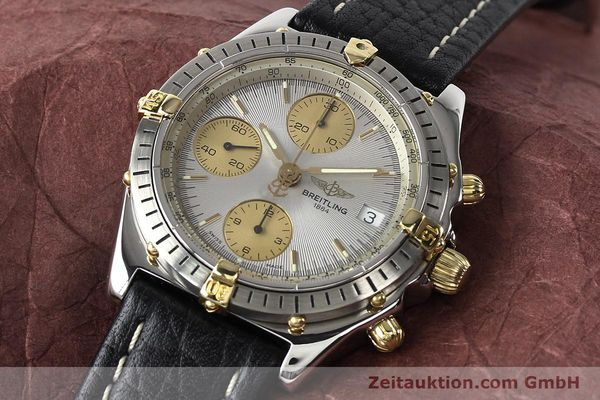 Used luxury watch Breitling Chronomat gilt steel automatic Kal. B13 ETA 7750 Ref. B13047  | 140938 01