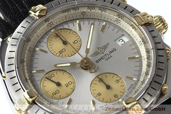 Used luxury watch Breitling Chronomat gilt steel automatic Kal. B13 ETA 7750 Ref. B13047  | 140938 02