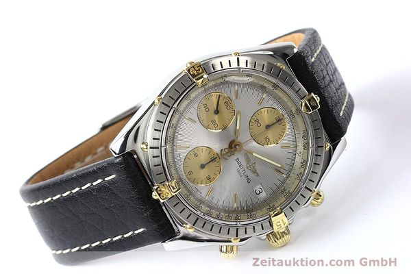 Used luxury watch Breitling Chronomat gilt steel automatic Kal. B13 ETA 7750 Ref. B13047  | 140938 03
