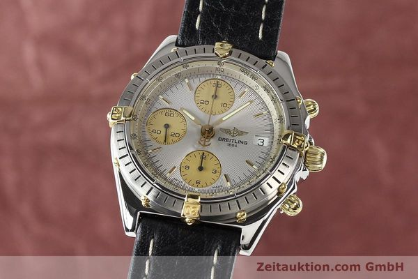 Used luxury watch Breitling Chronomat gilt steel automatic Kal. B13 ETA 7750 Ref. B13047  | 140938 04