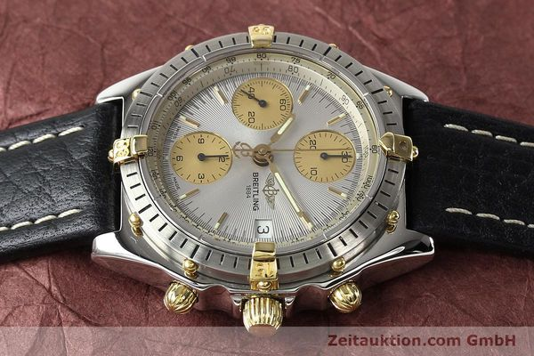 Used luxury watch Breitling Chronomat gilt steel automatic Kal. B13 ETA 7750 Ref. B13047  | 140938 05