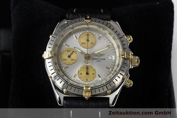 Used luxury watch Breitling Chronomat gilt steel automatic Kal. B13 ETA 7750 Ref. B13047  | 140938 07