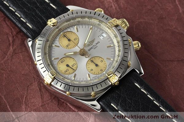 Used luxury watch Breitling Chronomat gilt steel automatic Kal. B13 ETA 7750 Ref. B13047  | 140938 14