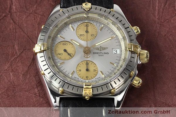 Used luxury watch Breitling Chronomat gilt steel automatic Kal. B13 ETA 7750 Ref. B13047  | 140938 15