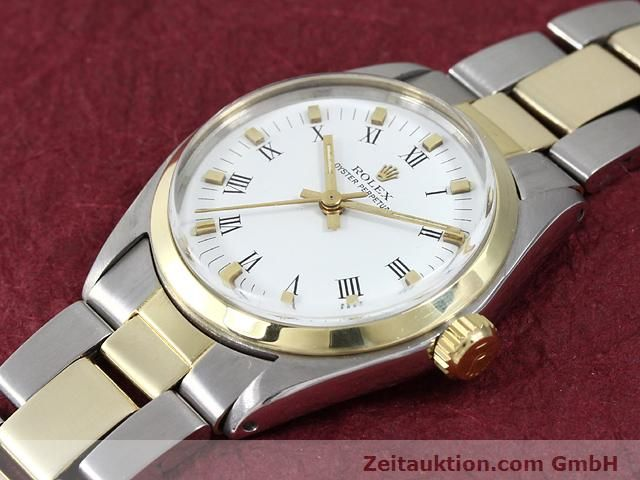 Used luxury watch Rolex Oyster Perpetual steel / gold automatic Kal. 2030 Ref. 6748  | 140941 01