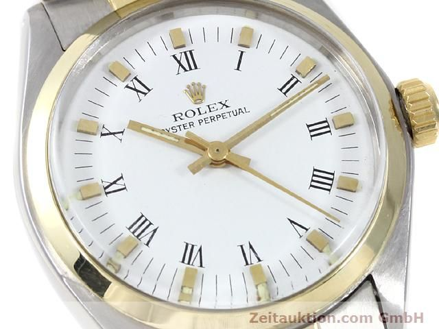 Used luxury watch Rolex Oyster Perpetual steel / gold automatic Kal. 2030 Ref. 6748  | 140941 02
