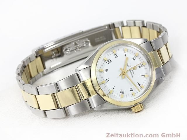 Used luxury watch Rolex Oyster Perpetual steel / gold automatic Kal. 2030 Ref. 6748  | 140941 03