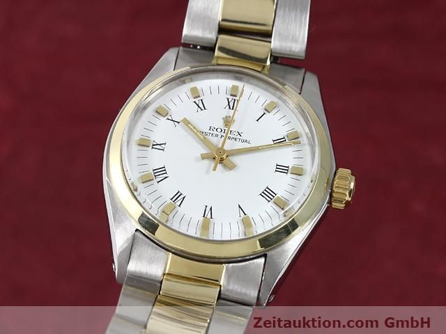 Used luxury watch Rolex Oyster Perpetual steel / gold automatic Kal. 2030 Ref. 6748  | 140941 04