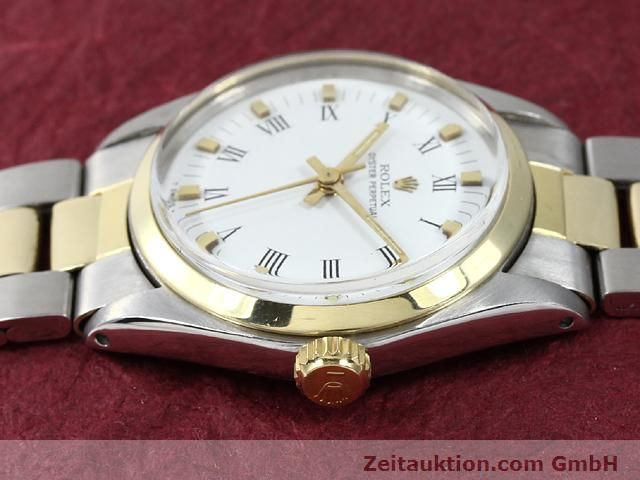 Used luxury watch Rolex Oyster Perpetual steel / gold automatic Kal. 2030 Ref. 6748  | 140941 05