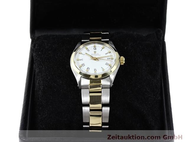 Used luxury watch Rolex Oyster Perpetual steel / gold automatic Kal. 2030 Ref. 6748  | 140941 07