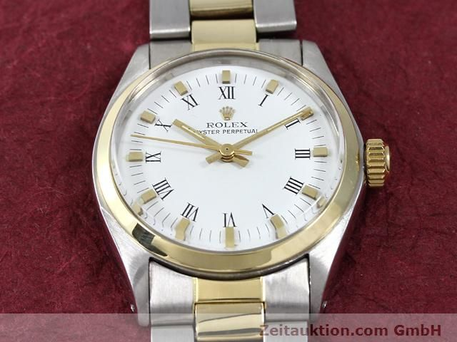 Used luxury watch Rolex Oyster Perpetual steel / gold automatic Kal. 2030 Ref. 6748  | 140941 14