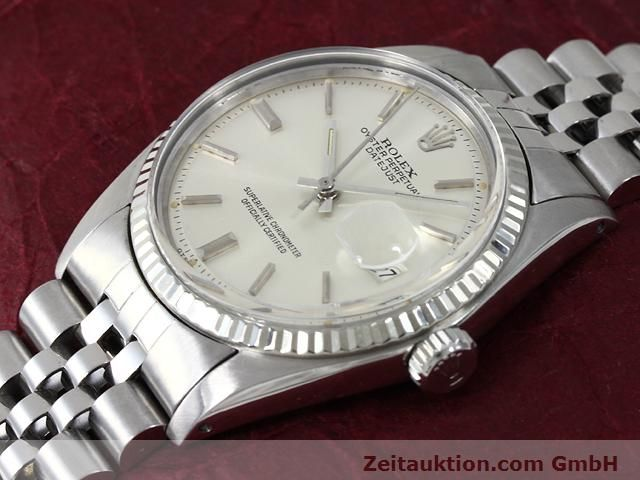 Used luxury watch Rolex Datejust steel / gold automatic Kal. 1570 Ref. 1601  | 140942 01