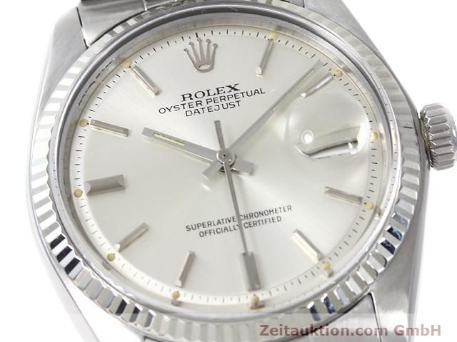 Used luxury watch Rolex Datejust steel / gold automatic Kal. 1570 Ref. 1601  | 140942 02