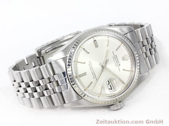 Used luxury watch Rolex Datejust steel / gold automatic Kal. 1570 Ref. 1601  | 140942 03