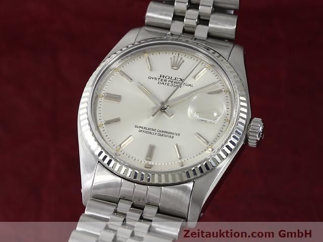 Used luxury watch Rolex Datejust steel / gold automatic Kal. 1570 Ref. 1601  | 140942 04