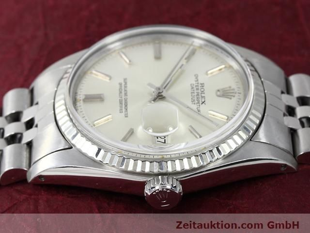 Used luxury watch Rolex Datejust steel / gold automatic Kal. 1570 Ref. 1601  | 140942 05