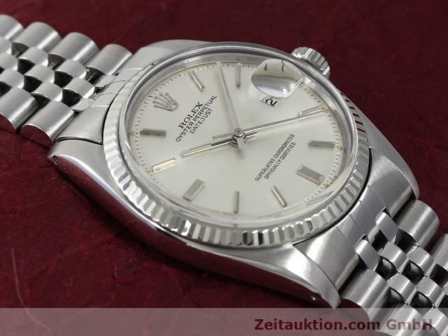 Used luxury watch Rolex Datejust steel / gold automatic Kal. 1570 Ref. 1601  | 140942 14
