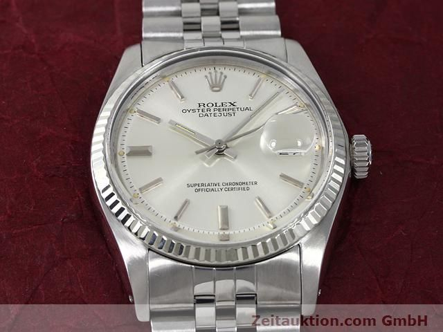 Used luxury watch Rolex Datejust steel / gold automatic Kal. 1570 Ref. 1601  | 140942 15