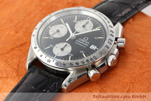 Used luxury watch Omega Speedmaster steel automatic Kal. 1155 ETA 7750  | 140948 01